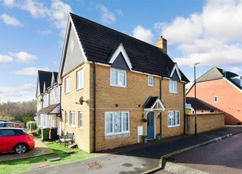 Thumbnail 3 bed end terrace house for sale in Roman Way, Boughton Monchelsea, Maidstone, Kent