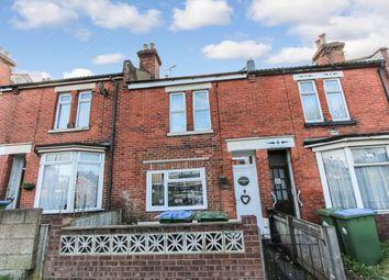 Thumbnail 2 bed terraced house for sale in Warren Avenue, Shirley, Southampton
