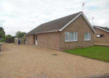 Thumbnail 3 bedroom detached bungalow to rent in Church Road, West Row, Bury St. Edmunds