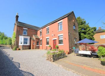 Thumbnail 4 bed detached house for sale in Uttoxeter Road, Blythe Bridge, Stoke-On-Trent