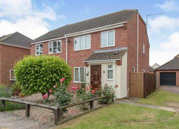 Thumbnail 3 bed semi-detached house for sale in Millfield, Castleton Way, Eye