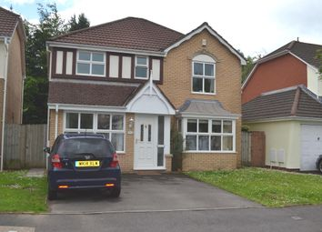 Thumbnail 4 bed detached house for sale in Maes Y Briallu, Morganstown, Cardiff