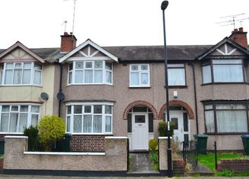 Thumbnail 3 bedroom terraced house to rent in Armstrong Avenue, Stoke, Coventry