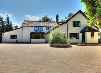 Thumbnail 5 bed detached house for sale in Burnthouse Lane, Wymondham