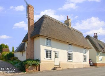 Thumbnail 4 bed cottage for sale in High Street, Hinxton, Saffron Walden, Cambridgeshire