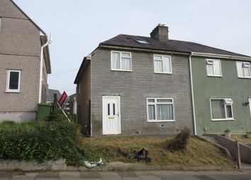 Thumbnail 3 bed semi-detached house for sale in Jephson Road, St Judes, Plymouth