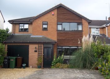 Thumbnail 5 bed detached house to rent in Richmond Avenue, Wolverhampton