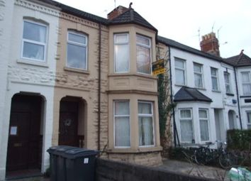 Thumbnail 5 bedroom terraced house to rent in Richmond Road, Cathays, Cardiff