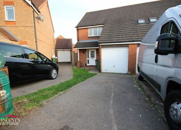 Thumbnail 3 bed semi-detached house for sale in Darien Way, Thorpe Astley