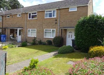 Thumbnail 3 bed end terrace house for sale in Girton Close, Mildenhall
