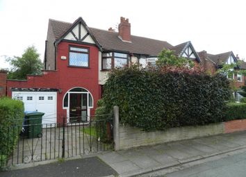 Thumbnail 3 bed semi-detached house to rent in Carrsvale Avenue, Urmston