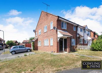 Thumbnail 1 bed end terrace house for sale in Doeshill Drive, Wickford, Essex