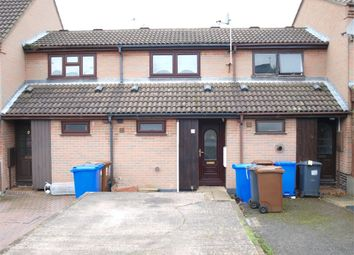 Thumbnail 1 bed terraced house to rent in Meynell Close, Burton-On-Trent, Staffordshire