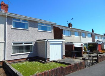 Thumbnail 3 bedroom semi-detached house for sale in Melcorn Drive, Newton, Swansea