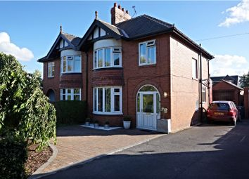 Thumbnail 3 bed semi-detached house for sale in Aspin Lane, Knaresborough