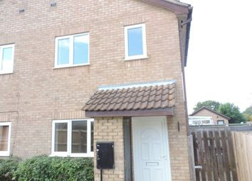 Thumbnail 1 bed property to rent in Bowness Way, Gunthorpe, Peterborough