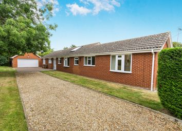 Thumbnail 5 bedroom detached bungalow for sale in Main Street, Ewerby, Sleaford