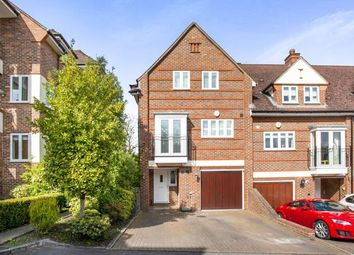 Thumbnail 4 bedroom end terrace house for sale in Pyrford, Surrey
