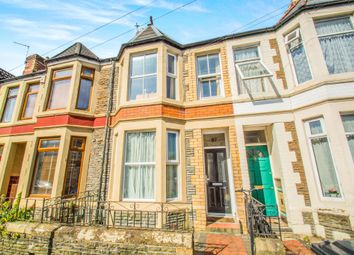 Thumbnail 3 bed terraced house for sale in Arabella Street, Roath, Cardiff
