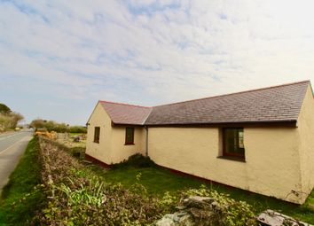Thumbnail 2 bedroom detached bungalow for sale in Bodedern, Holyhead