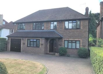 Thumbnail 5 bed detached house for sale in Oak End Way, Woodham, Addlestone, Surrey
