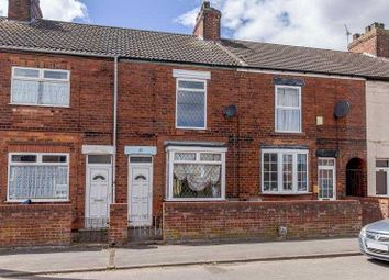 Thumbnail 3 bed terraced house to rent in Cemetery Road, Scunthorpe