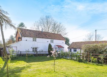 Thumbnail 4 bed farmhouse for sale in Tivetshall St. Margaret, Norwich