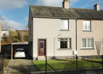 Thumbnail 2 bed semi-detached house for sale in Croft Road, Kelso