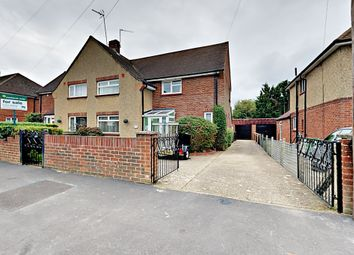 Thumbnail 3 bed semi-detached house for sale in Worsley Road, Frimley, Camberley, Surrey