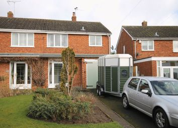 Thumbnail 3 bed semi-detached house for sale in School Road, Wheaton Aston, Stafford