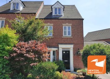 Thumbnail 4 bed semi-detached house for sale in Buttermere Court, Mansfield Woodhouse, Mansfield