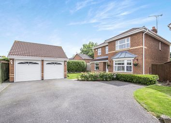 Thumbnail 4 bed detached house for sale in Neville Smith Close, Sapcote, Leicester
