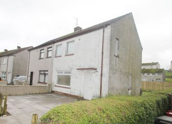 Thumbnail 3 bed semi-detached house for sale in 106, Ashmark Avenue, New Cumnock KA184EU