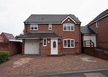Thumbnail 4 bed detached house for sale in River Walk, Wednesbury