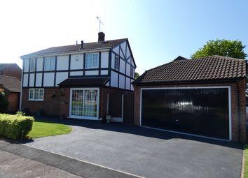 Thumbnail 4 bed detached house for sale in Broadleaf Close, Oakwood, Derby