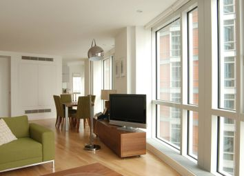 Thumbnail 2 bedroom flat to rent in Ontario Tower, Canary Wharf