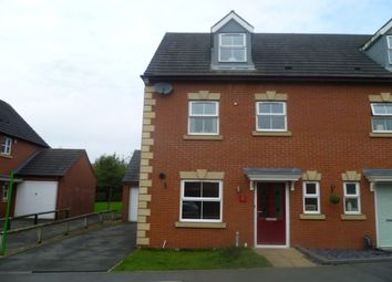 Thumbnail 4 bed semi-detached house to rent in Woodyard Close, Castle Gresley, Swadlincote