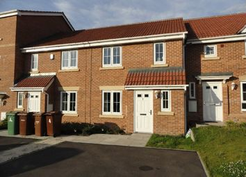 Thumbnail 3 bed town house for sale in Mill Court, Castleford