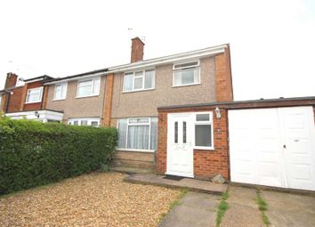 Thumbnail 3 bed semi-detached house for sale in Brightwell Drive, Leicester Forest East, Leicester