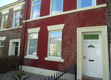 Thumbnail 4 bed terraced house to rent in Lancaster Street, Newcastle Upon Tyne