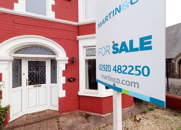 Thumbnail 4 bedroom end terrace house for sale in Minster Road, Roath, Cardiff