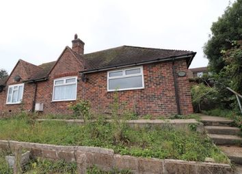 Thumbnail 2 bedroom semi-detached bungalow for sale in Southdown Close, Newhaven