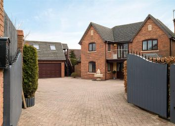 Thumbnail 4 bed detached house for sale in Summers Close, Kirkby Mallory, Leicester