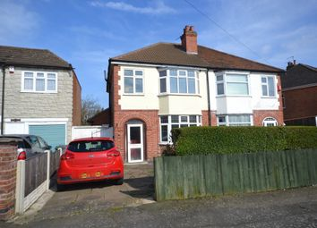Thumbnail 3 bedroom semi-detached house to rent in Belvoir Drive East, Aylestone, Leicester