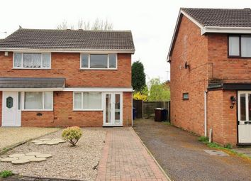 Thumbnail 2 bed semi-detached house to rent in Grove Close, Norton Canes