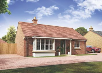 Thumbnail 2 bed bungalow for sale in Mayfield Gardens, Baston