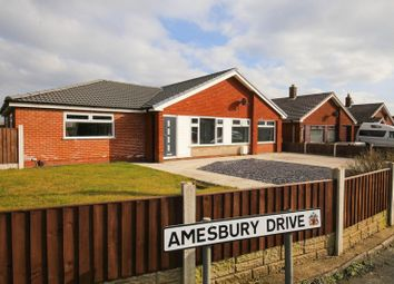 Thumbnail 3 bed detached bungalow for sale in Amesbury Drive, Winstanley, Wigan