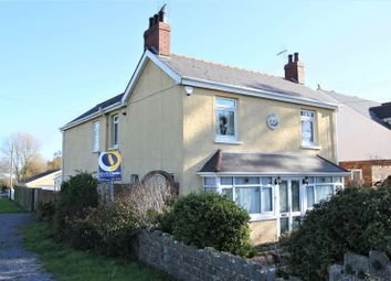Thumbnail 5 bed detached house for sale in Gileston Road, Gileston, Barry
