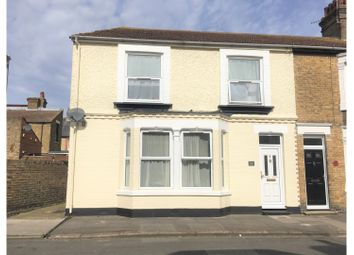 Thumbnail 3 bed end terrace house for sale in Wellesley Road, Sheerness
