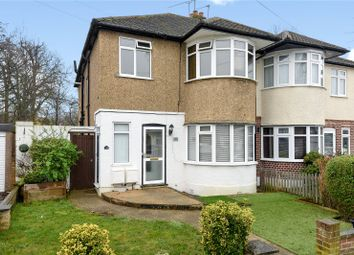 Thumbnail 1 bed flat for sale in Mount Park Road, Pinner, Middlesex